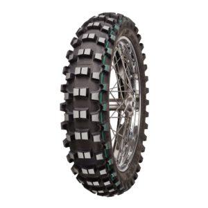 Mitas tyres R18 rear green